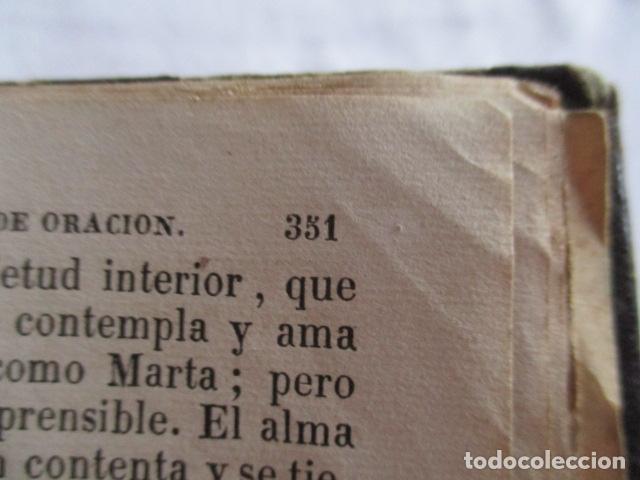 Libros antiguos: MANUAL DE MEDITACIONES. P. TOMAS DE VILLACASTIN. IMP. Y LIBR. PABLO RIERA. BARCELONA 1874 - Foto 22 - 166952292