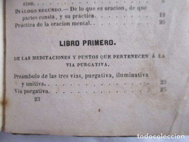 Libros antiguos: MANUAL DE MEDITACIONES. P. TOMAS DE VILLACASTIN. IMP. Y LIBR. PABLO RIERA. BARCELONA 1874 - Foto 24 - 166952292