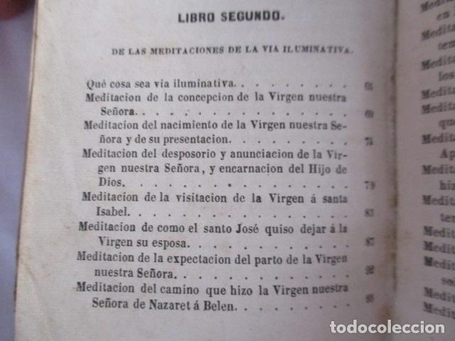 Libros antiguos: MANUAL DE MEDITACIONES. P. TOMAS DE VILLACASTIN. IMP. Y LIBR. PABLO RIERA. BARCELONA 1874 - Foto 26 - 166952292