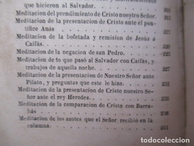 Libros antiguos: MANUAL DE MEDITACIONES. P. TOMAS DE VILLACASTIN. IMP. Y LIBR. PABLO RIERA. BARCELONA 1874 - Foto 30 - 166952292