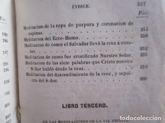 Libros antiguos: MANUAL DE MEDITACIONES. P. TOMAS DE VILLACASTIN. IMP. Y LIBR. PABLO RIERA. BARCELONA 1874 - Foto 31 - 166952292
