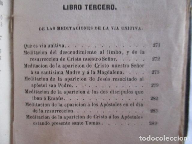 Libros antiguos: MANUAL DE MEDITACIONES. P. TOMAS DE VILLACASTIN. IMP. Y LIBR. PABLO RIERA. BARCELONA 1874 - Foto 32 - 166952292