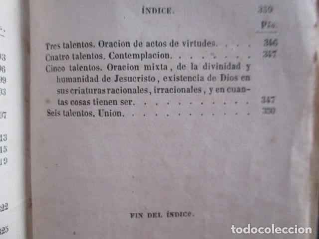 Libros antiguos: MANUAL DE MEDITACIONES. P. TOMAS DE VILLACASTIN. IMP. Y LIBR. PABLO RIERA. BARCELONA 1874 - Foto 35 - 166952292