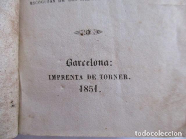 Libros antiguos: 1851 - Nuevo ejercicio cotidiano - NUMEROSOS GRABADOS - Foto 10 - 166955668