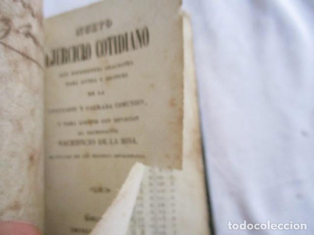 Libros antiguos: 1851 - Nuevo ejercicio cotidiano - NUMEROSOS GRABADOS - Foto 11 - 166955668