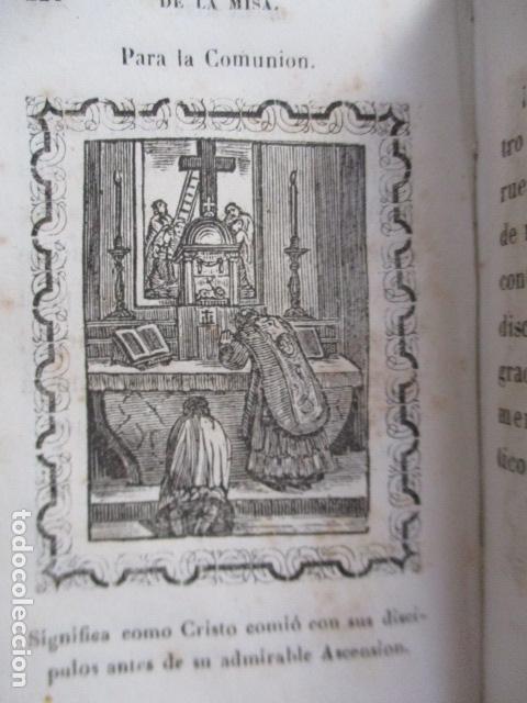 Libros antiguos: 1851 - Nuevo ejercicio cotidiano - NUMEROSOS GRABADOS - Foto 18 - 166955668