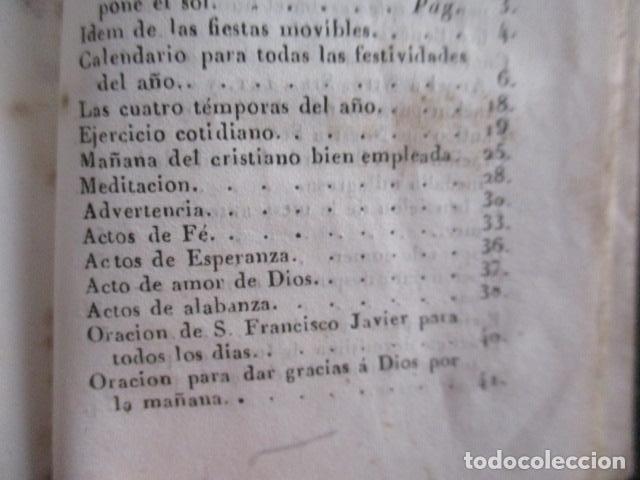 Libros antiguos: 1851 - Nuevo ejercicio cotidiano - NUMEROSOS GRABADOS - Foto 23 - 166955668