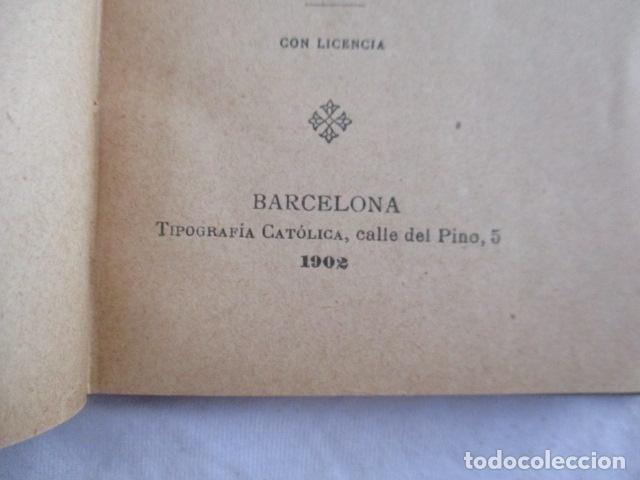 Libros antiguos: EL COFRADE DE MONTSERRAT - MANUALITO DE NOTICIAS HISTÓRICAS (1902) - Foto 8 - 166955868