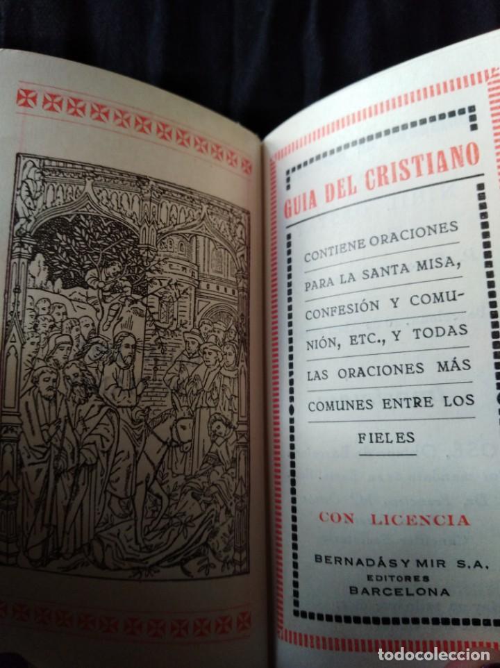 Libros antiguos: DEVOCIONARIO. NÁCAR. 1927. - Foto 4 - 166971736