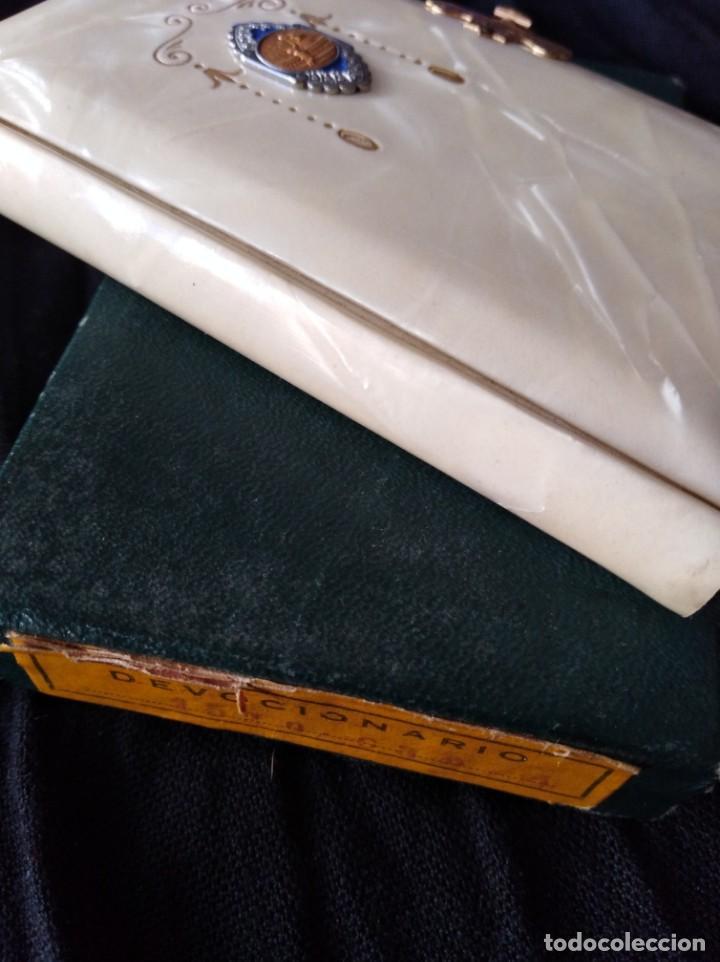 Libros antiguos: DEVOCIONARIO. NÁCAR. 1927. - Foto 6 - 166971736