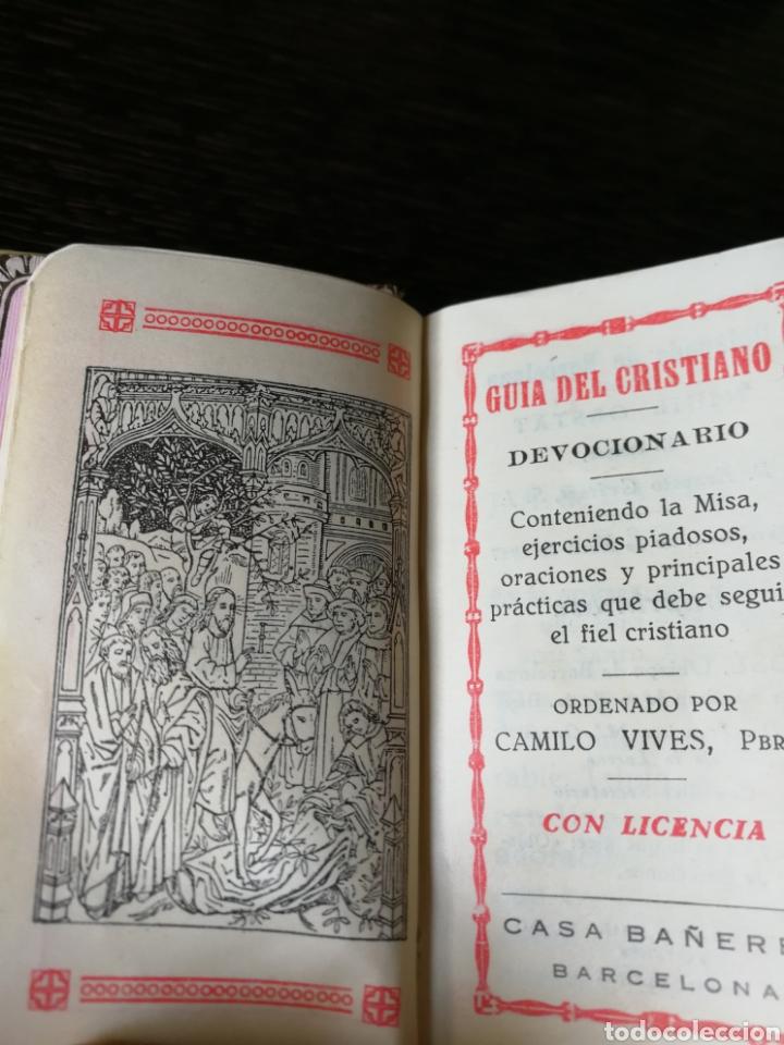 Libros antiguos: ANTIGUO DEVOCIONARIO NÁCAR 1927. - Foto 4 - 167599862