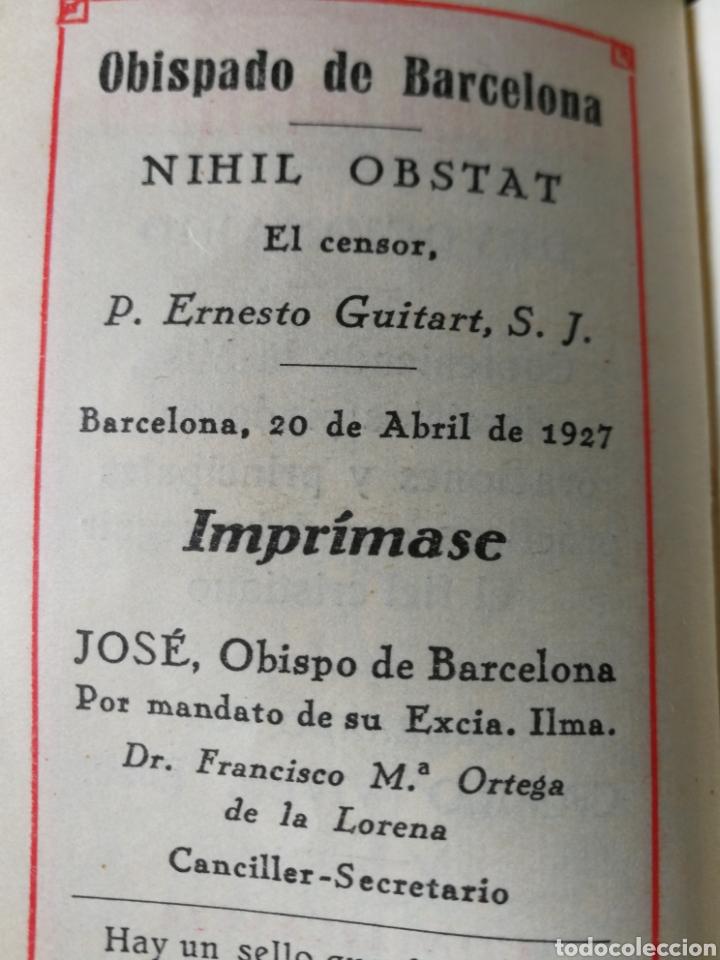Libros antiguos: ANTIGUO DEVOCIONARIO NÁCAR 1927. - Foto 5 - 167599862