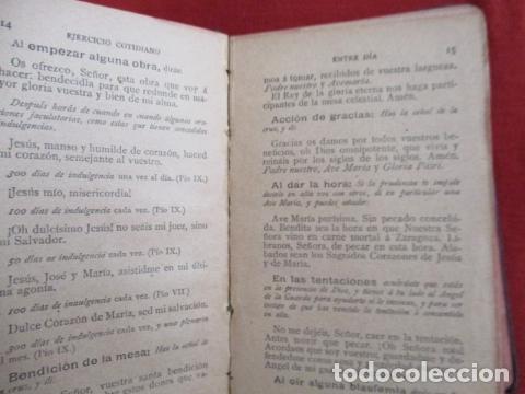 Libros antiguos: Devocionario Manual - Bilbao 1907 - Foto 9 - 167617120