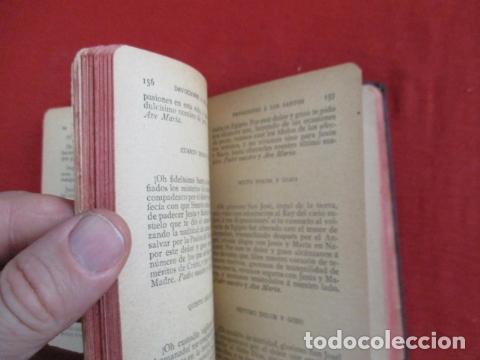 Libros antiguos: Devocionario Manual - Bilbao 1907 - Foto 11 - 167617120