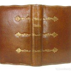 Libri antichi: 1917 - ANTIGUO MISAL DE LUJO, TODAS LAS PÁGINAS CON ILUSTRACIONES, ENCUADERNACIÓN PLENA PIEL. Lote 167977005