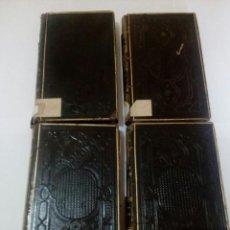 Libros antiguos: BIBLIOTECA SELECTA DE PREDICADORES COLECCION ESCOGIDA 1857 4 TOMOS. Lote 168122012