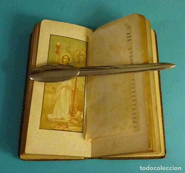 Libros antiguos: ROCÍO DIVINO. P. BERNARDO DE LA CRUZ. SUCESORES DE LLORENS HERMANOS. 1899 - Foto 2 - 168143488