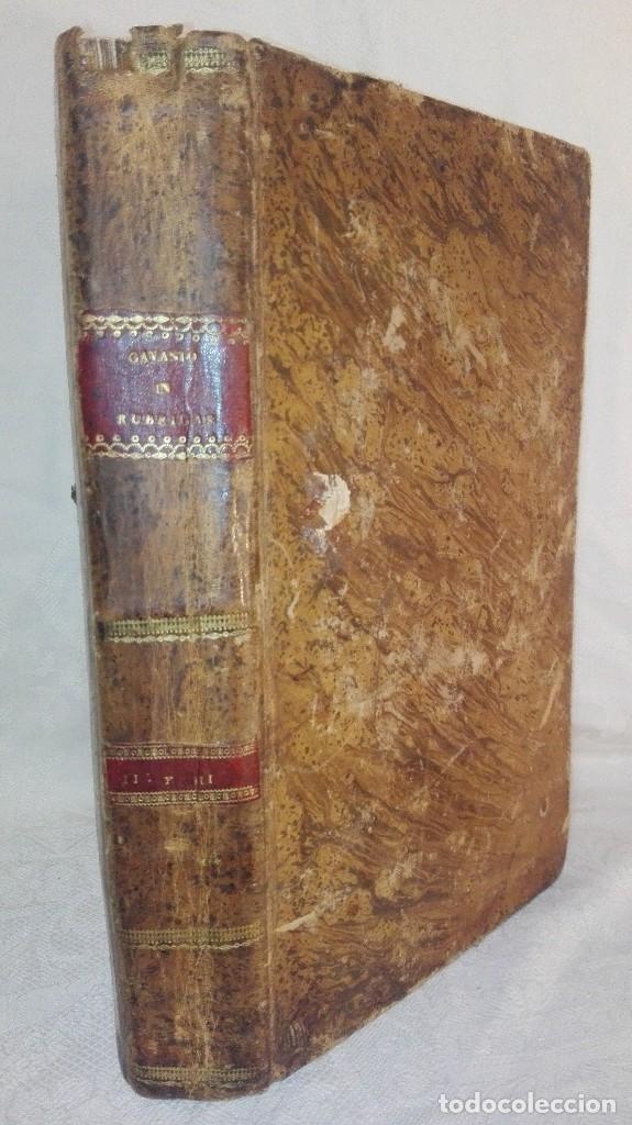 ANTIGUO LIBRO FORMATO GRANDE THESAURUS SACRORUM RITUUM.BARTHOLOMEO GAVANTO.VENECIA.1814 (Libros Antiguos, Raros y Curiosos - Religión)