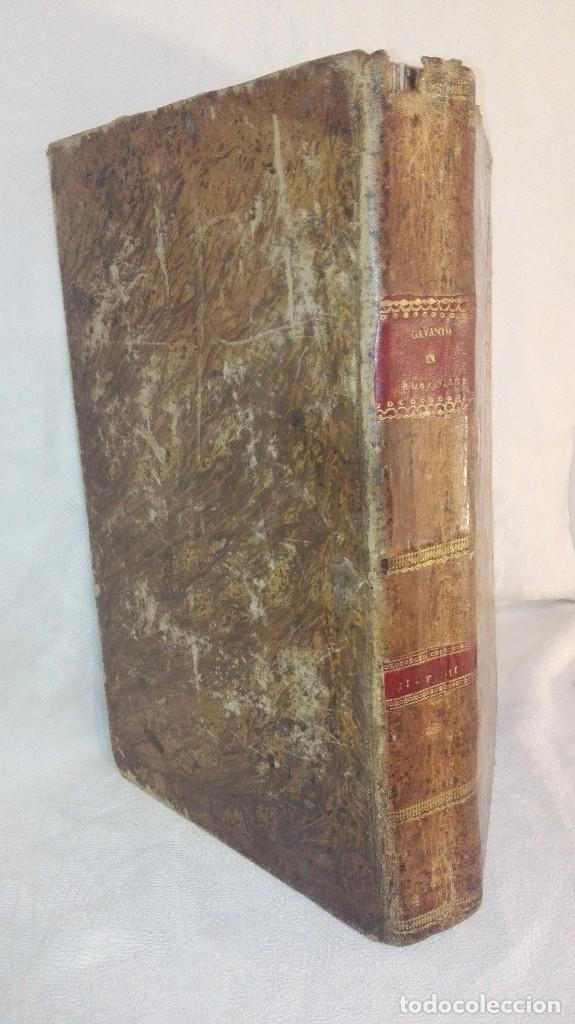 Libros antiguos: ANTIGUO LIBRO FORMATO GRANDE THESAURUS SACRORUM RITUUM.BARTHOLOMEO GAVANTO.VENECIA.1814 - Foto 4 - 168236776