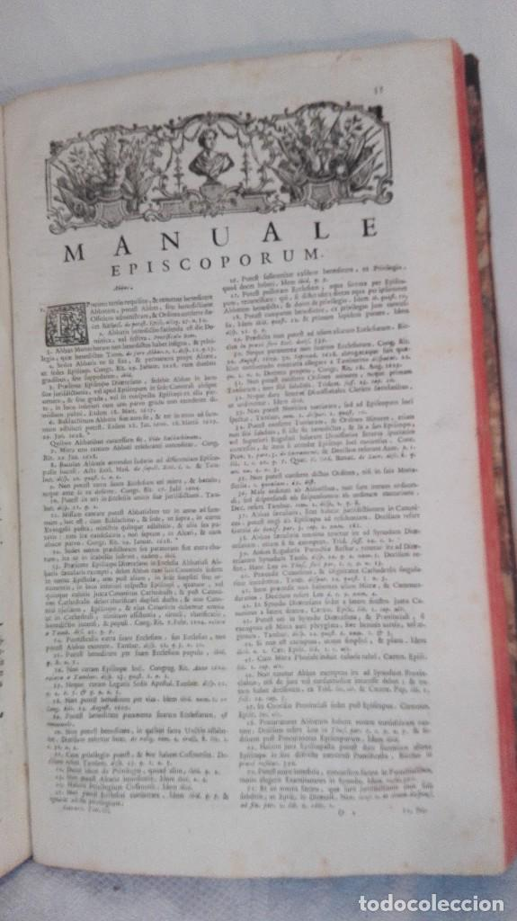 Libros antiguos: ANTIGUO LIBRO FORMATO GRANDE THESAURUS SACRORUM RITUUM.BARTHOLOMEO GAVANTO.VENECIA.1814 - Foto 19 - 168236776