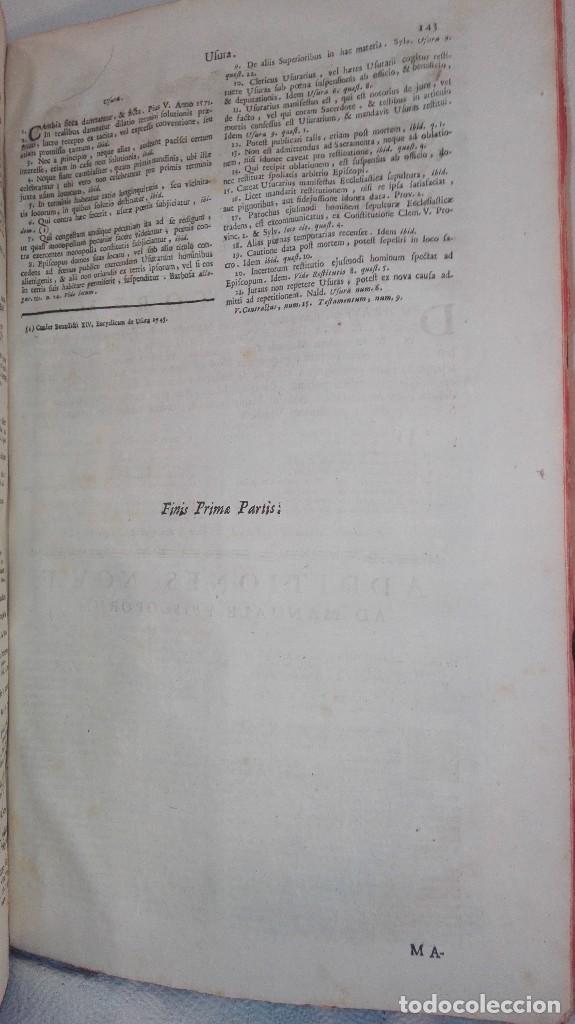 Libros antiguos: ANTIGUO LIBRO FORMATO GRANDE THESAURUS SACRORUM RITUUM.BARTHOLOMEO GAVANTO.VENECIA.1814 - Foto 20 - 168236776