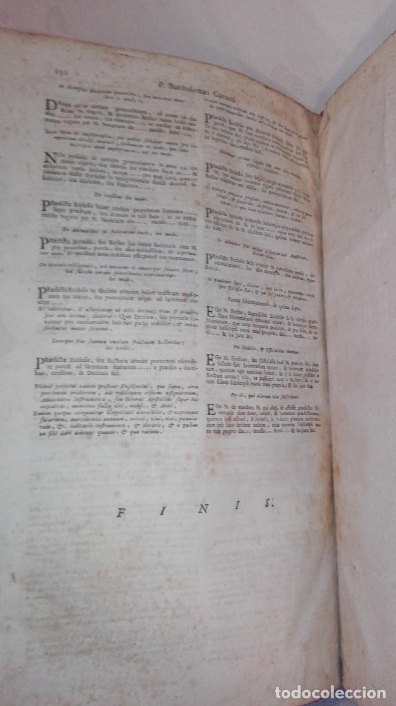 Libros antiguos: ANTIGUO LIBRO FORMATO GRANDE THESAURUS SACRORUM RITUUM.BARTHOLOMEO GAVANTO.VENECIA.1814 - Foto 22 - 168236776