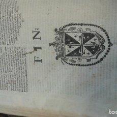 Libros antiguos: OBRAS DEL VENERABLE PADRE FRAY LUIS DE GRANADA, TOMO I, 1676. IMPRENTA ANDRÉS GARCÍA DE LA IGLESIA. Lote 168299448