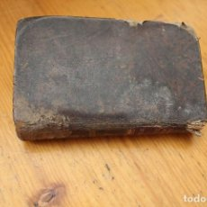 Libros antiguos: EJERCICIOS COTIDIANOS ENCUADERNADO EN PIEL CON 200 AÑOS. Lote 168718300