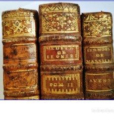 Libros antiguos: 3 LIBROS DEL SIGLO XVIII. AÑOS 1738, 1752 Y 1763.. Lote 168906092