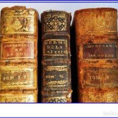 Libros antiguos: 3 LIBROS DEL SIGLO XVIII: . Lote 168961428