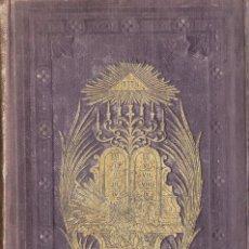 Libros antiguos: LA SAGRADA BIBLIA TRADUCIDA DE LA VULGATA LATINA 1858. Lote 169011252