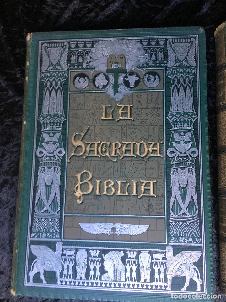 Libros antiguos: LA SAGRADA BIBLIA - ANTIGUO TESTAMENTO - 3 TOMOS -1883-84- ILUSTRADA POR DORE - PRECIOSA - - Foto 2 - 169157756