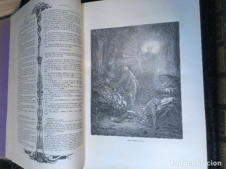 Libros antiguos: LA SAGRADA BIBLIA - ANTIGUO TESTAMENTO - 3 TOMOS -1883-84- ILUSTRADA POR DORE - PRECIOSA - - Foto 5 - 169157756