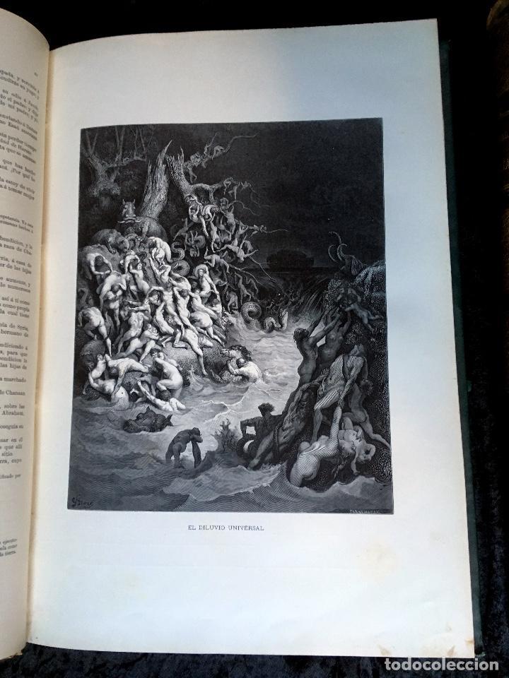 Libros antiguos: LA SAGRADA BIBLIA - ANTIGUO TESTAMENTO - 3 TOMOS -1883-84- ILUSTRADA POR DORE - PRECIOSA - - Foto 6 - 169157756