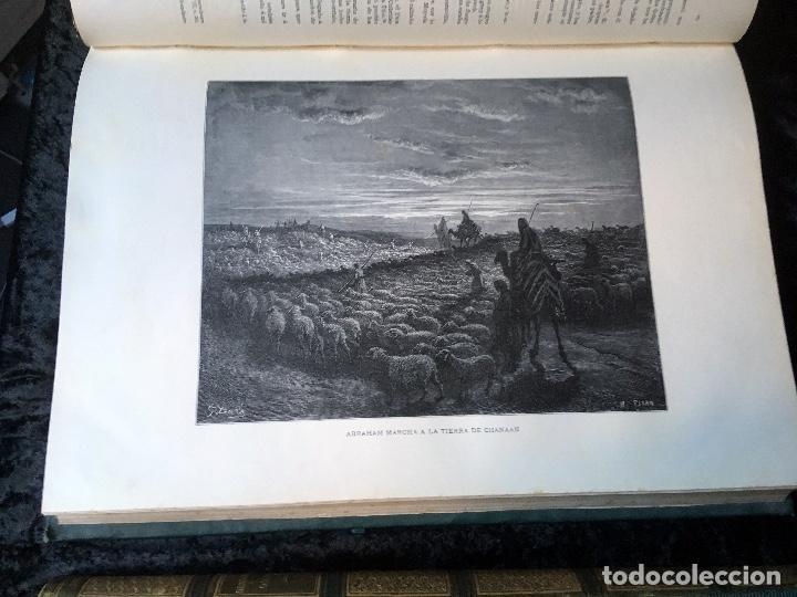 Libros antiguos: LA SAGRADA BIBLIA - ANTIGUO TESTAMENTO - 3 TOMOS -1883-84- ILUSTRADA POR DORE - PRECIOSA - - Foto 7 - 169157756