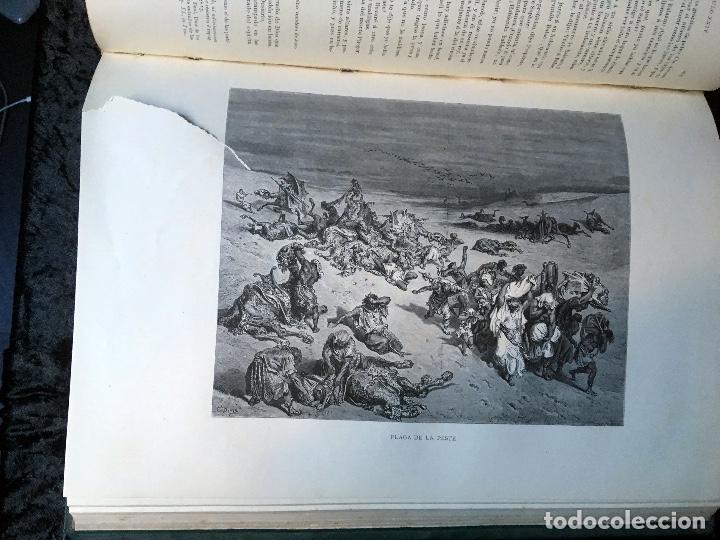 Libros antiguos: LA SAGRADA BIBLIA - ANTIGUO TESTAMENTO - 3 TOMOS -1883-84- ILUSTRADA POR DORE - PRECIOSA - - Foto 9 - 169157756