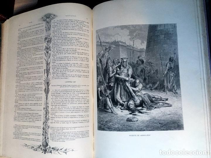 Libros antiguos: LA SAGRADA BIBLIA - ANTIGUO TESTAMENTO - 3 TOMOS -1883-84- ILUSTRADA POR DORE - PRECIOSA - - Foto 11 - 169157756
