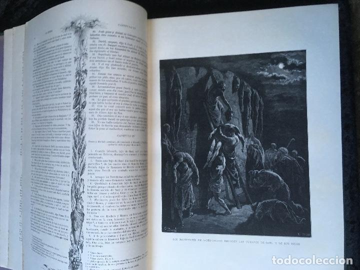 Libros antiguos: LA SAGRADA BIBLIA - ANTIGUO TESTAMENTO - 3 TOMOS -1883-84- ILUSTRADA POR DORE - PRECIOSA - - Foto 15 - 169157756