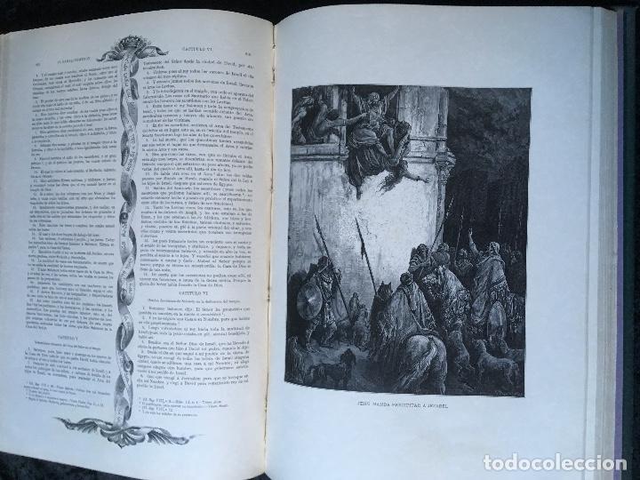 Libros antiguos: LA SAGRADA BIBLIA - ANTIGUO TESTAMENTO - 3 TOMOS -1883-84- ILUSTRADA POR DORE - PRECIOSA - - Foto 16 - 169157756