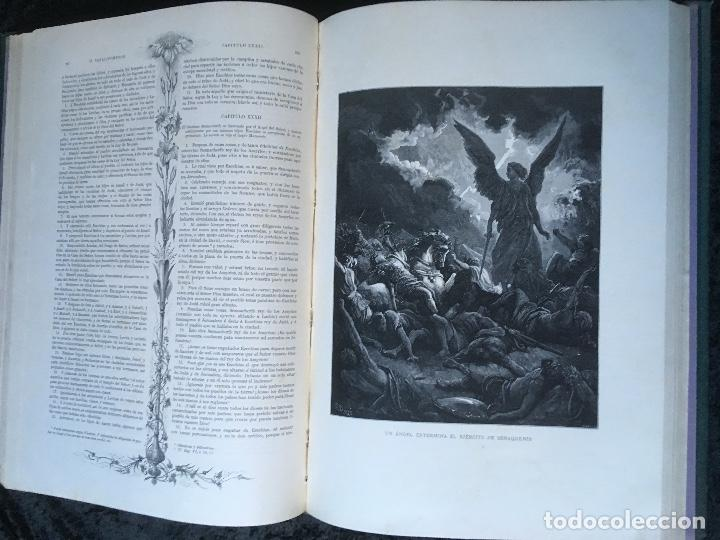 Libros antiguos: LA SAGRADA BIBLIA - ANTIGUO TESTAMENTO - 3 TOMOS -1883-84- ILUSTRADA POR DORE - PRECIOSA - - Foto 17 - 169157756