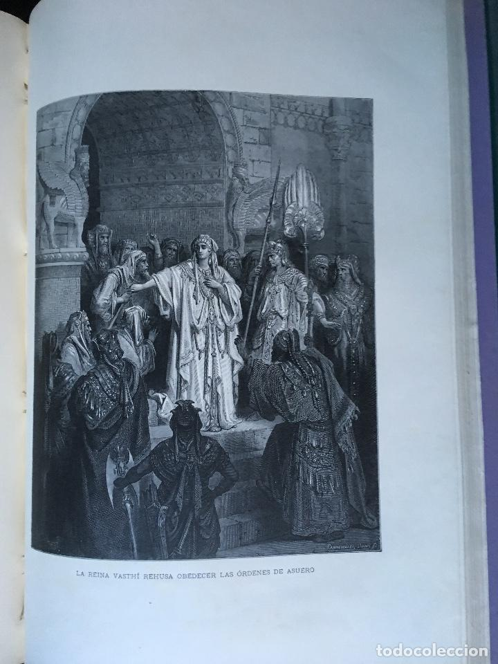 Libros antiguos: LA SAGRADA BIBLIA - ANTIGUO TESTAMENTO - 3 TOMOS -1883-84- ILUSTRADA POR DORE - PRECIOSA - - Foto 18 - 169157756