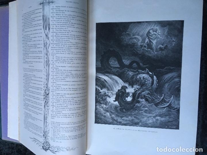 Libros antiguos: LA SAGRADA BIBLIA - ANTIGUO TESTAMENTO - 3 TOMOS -1883-84- ILUSTRADA POR DORE - PRECIOSA - - Foto 21 - 169157756