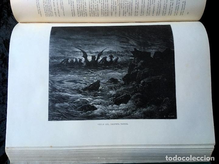 Libros antiguos: LA SAGRADA BIBLIA - ANTIGUO TESTAMENTO - 3 TOMOS -1883-84- ILUSTRADA POR DORE - PRECIOSA - - Foto 24 - 169157756