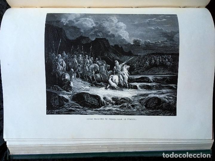 Libros antiguos: LA SAGRADA BIBLIA - ANTIGUO TESTAMENTO - 3 TOMOS -1883-84- ILUSTRADA POR DORE - PRECIOSA - - Foto 25 - 169157756