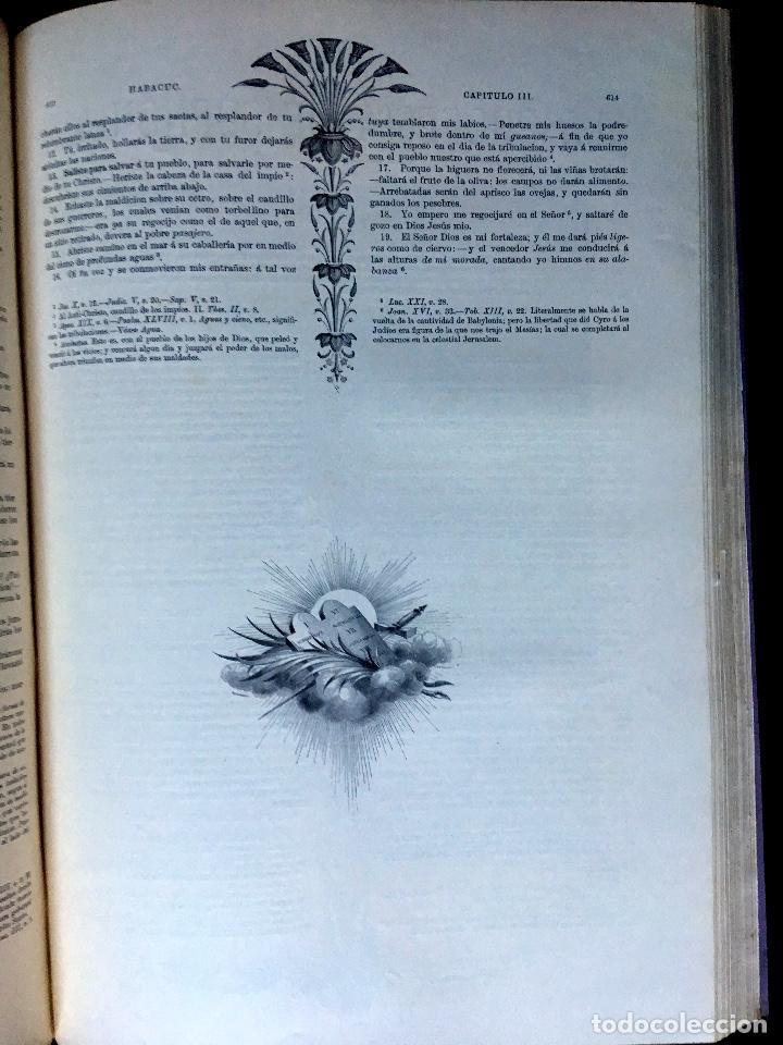 Libros antiguos: LA SAGRADA BIBLIA - ANTIGUO TESTAMENTO - 3 TOMOS -1883-84- ILUSTRADA POR DORE - PRECIOSA - - Foto 26 - 169157756
