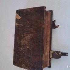 Libros antiguos: BAND BUCH IN GUTEN UND BOFER BAGEN ,BOR GABBATH 1855 EN ALEMÁN, CREIO QUE ES UNA BIBLIA TAPAS MADERA. Lote 169232352