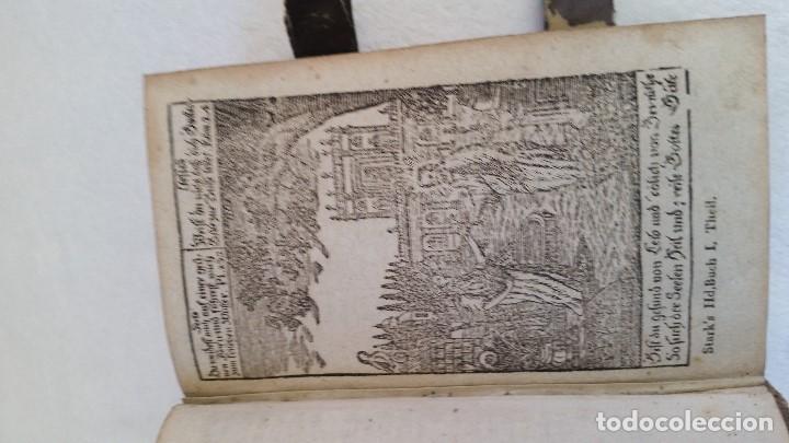 Libros antiguos: BAND BUCH IN GUTEN UND BOFER BAGEN ,BOR GABBATH 1855 EN ALEMÁN,TAPAS DE MADERA - Foto 4 - 169232352