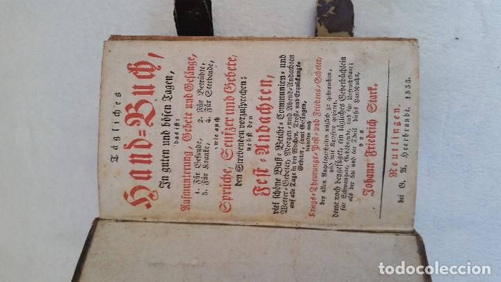 Libros antiguos: BAND BUCH IN GUTEN UND BOFER BAGEN ,BOR GABBATH 1855 EN ALEMÁN,TAPAS DE MADERA - Foto 5 - 169232352