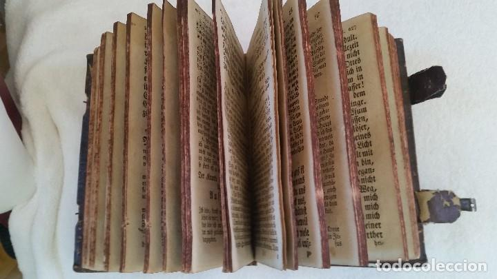 Libros antiguos: BAND BUCH IN GUTEN UND BOFER BAGEN ,BOR GABBATH 1855 EN ALEMÁN,TAPAS DE MADERA - Foto 8 - 169232352