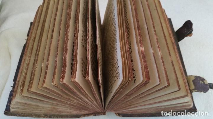 Libros antiguos: BAND BUCH IN GUTEN UND BOFER BAGEN ,BOR GABBATH 1855 EN ALEMÁN,TAPAS DE MADERA - Foto 9 - 169232352